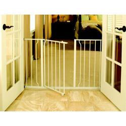 Regalo Easy Open Super Wide Walk Thru Gate - White