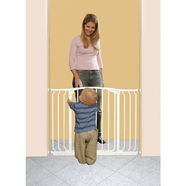 Dreambaby Swing Close Gate with Extension, White