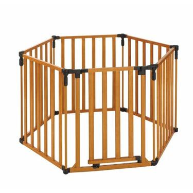 North States 3 in 1 Wood Superyard- 3 Gates in 1
