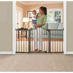 Summer Infant Stylish n' Secure 6 Foot Extra Tall Metal Expansion Gate
