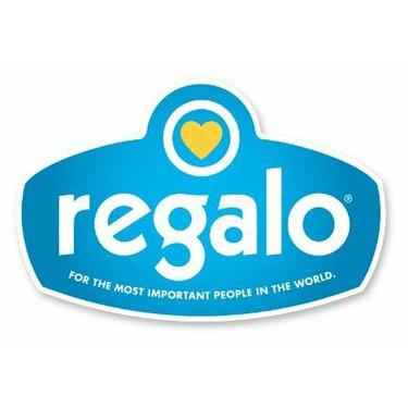 Regalo Easy Step Extra Wide Walk Thru Gate, White