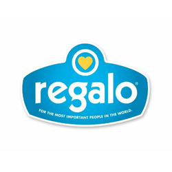 Regalo Easy Step Extra Tall Walk Thru Gate - White