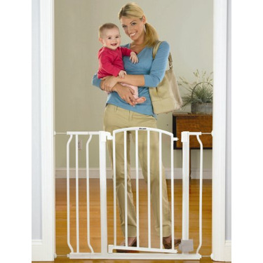 The First Years Hands Free Gate with Extension