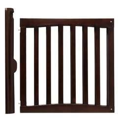 Safety 1st Wooden Swing Gate, Espresso