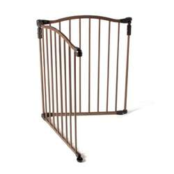 North States 3 in 1 Metal Deluxe Superyard Curve Extension Kit, Bronze