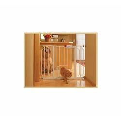 Extra Wide Gate with Pet Door
