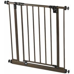 North States Easy Close Deluxe Gate, Bronze