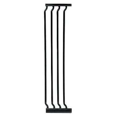 """Dreambaby 10.5"""" Extra Tall Gate Extension, Black"""