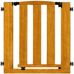 North States Industries Easy Open and Lock Gate Natural-Pressure Mounted Gate