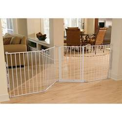 Regalo Flexi Extra Wide Configurable Walk Thru Gate - White