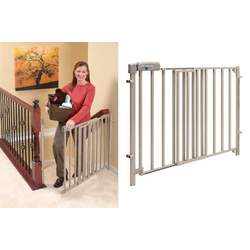 Evenflo Secure Step Top of Stair Gate - Taupe