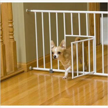 "Extension for Mini Gate - White (12"")"