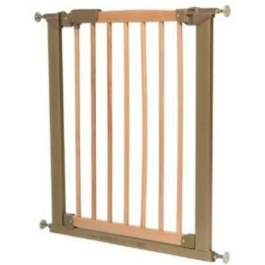 KidCo Center Gateway Wood Child Safety Gate - Beechwood