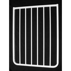 "Cardinal Gates 21.75"" Extension for Stairway Special Gate and Auto Lock Gate, White"