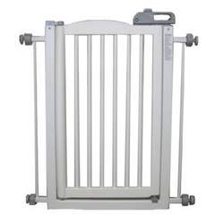Richell One Touch Gate, Origami White