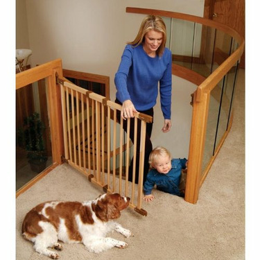 """KidCo Angle Mount Wood Safeway Gate 9"""" Extension"""