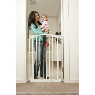 Dreambaby Extra Tall Swing Closed Security Gate White