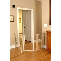 Regalo Flexi Extra Wide Configurable Walk Thru Gate - Beige