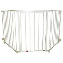 Regalo Flexi Extra Wide Configurable Walk Thru Gate - Beige