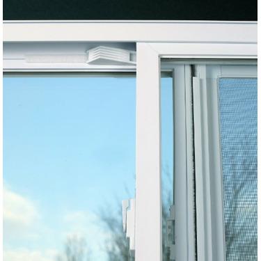 Window Wedge Adjustable Velcro Installed Window Stop