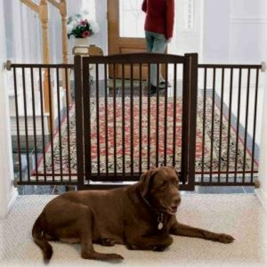 One-Touch Pet Gate - 35 Inch