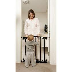 Dreambaby Swing Closed Security Gate Black