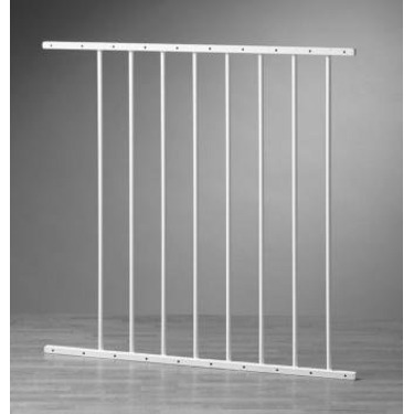 "24"" extension for KidCo's Safeway & Elongate Baby Gates Colors: Black"