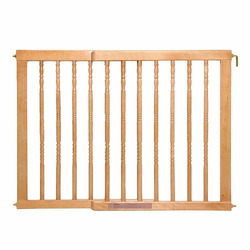 Classic Wood Safety Gate LIGHT OAK