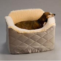 Lookout 1 Pet Car Seat Medium Khaki