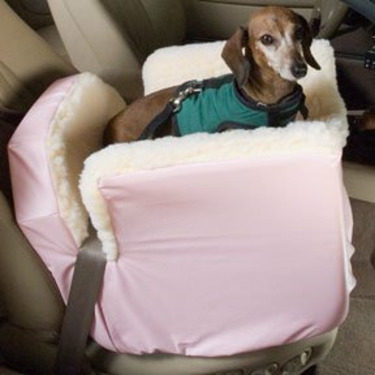 Lookout 1 Pet Car Seat Small Baby Pink