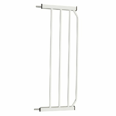 "Cardinal Gates 10"" Extension for AutoLock Pressure Gate, White"