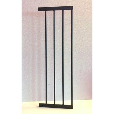 "10"" extension for KidCo's Angle Mount Safeway Baby Gate Colors: Black"