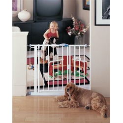 "Auto Close Baby Gate, 14"" extension"