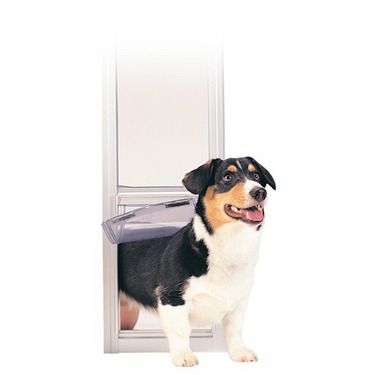 PetSafe Large Deluxe Patio Panel Pet Door - For dogs Up to 80lbs