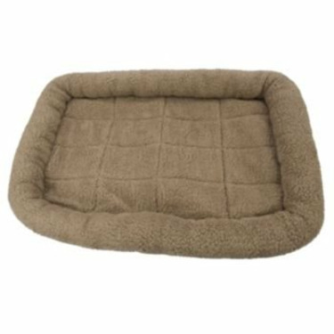 Fleece Crate Dog Bed Mushroom 41.75 x 27.75