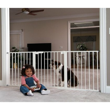 """12 1/2"""" extension for KidCo Center Gateway Baby Gate Colors: Black"""