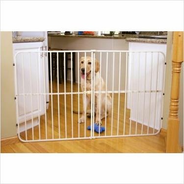 Big Tuffy Extra Tall Expandable Pet Gate