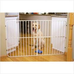Big Tuffy Extra Tall Expandable Pet Gate