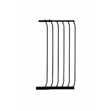 """Dreambaby 17.5"""" Extra Tall Gate Extension, Black"""