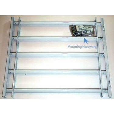 John Sterling MAX Window Guard, 5 Bar Expands 21-42 In.