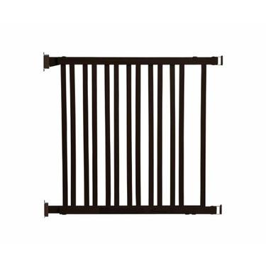Dreambaby Dark Wood Expandable Gate, Chocolate