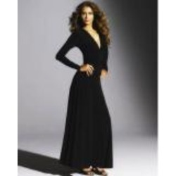 Shape fx Slimming shirred-waist dress by Newport News