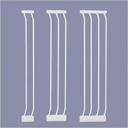 White Extra-Tall Gate Extensions Size: Medium