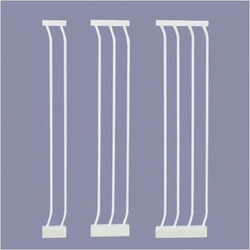White Extra-Tall Gate Extensions Size: Large