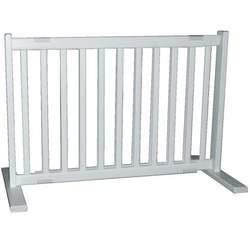 Small Free Standing Pet Gate - Warm White