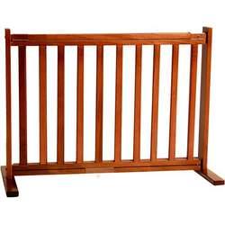 """20"""" Wood Free Standing Gate (Small - Medium Cherry)"""