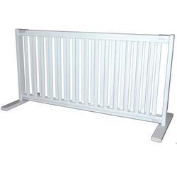 Large Free Standing Pet Gate - Warm White