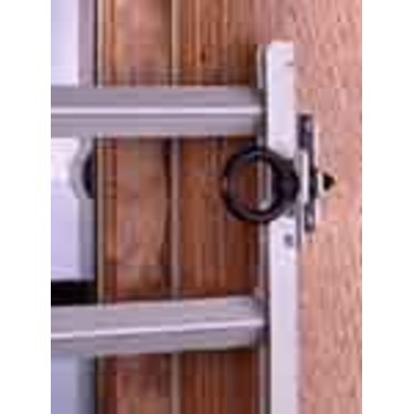 Safety Release Pin for Window Guard Locking Channel