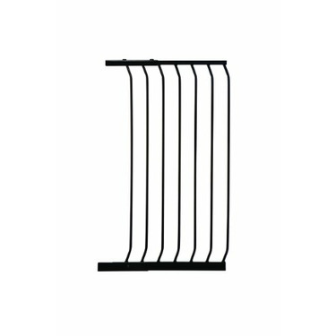 "Dreambaby 21"" Extra Tall Gate Extension, Black"
