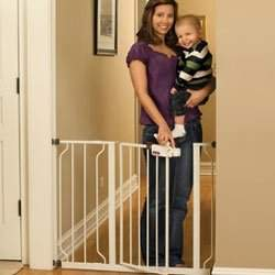 Regalo Easy Step Metal Walk-through Gate